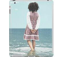 walking in water iPad Case/Skin