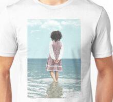 walking in water Unisex T-Shirt
