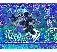 Sport B 4 blue Photographic Print
