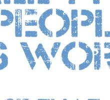 Three Types of People Sticker