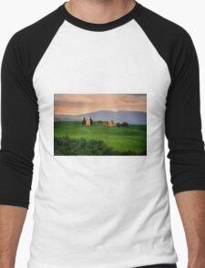 Tuscany Men's Baseball ¾ T-Shirt