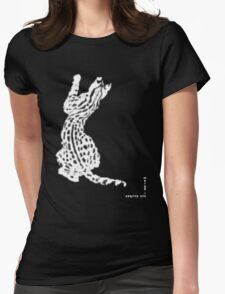 Merge Into Stripes - To Communicate With Others of its Species... Womens Fitted T-Shirt