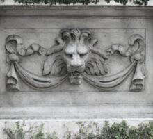 Lion Head Crypt Sticker