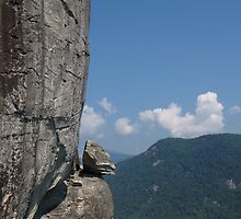 Devil's Head at Chimney Rock, NC by Anna Lisa Yoder