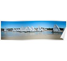 Laser Boats Poster