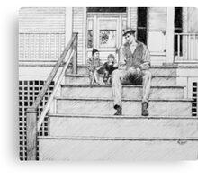 Dialogue 1945 Canvas Print