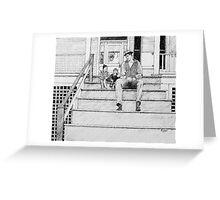 Dialogue 1945 Greeting Card