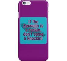 Rockin Zeppelin iPhone Case/Skin