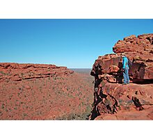 Kings Canyon, Watarrka National Park, Northern Territory, Australia Photographic Print