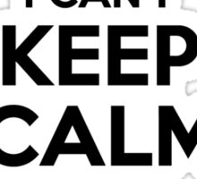 I cant keep calm Im a BLUTH Sticker