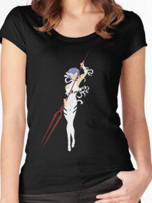 Rei - Evangelion Women's Fitted Scoop T-Shirt