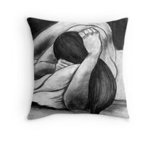 Reclining Woman #4 Throw Pillow
