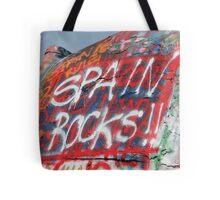 Spain Rocks Tote Bag
