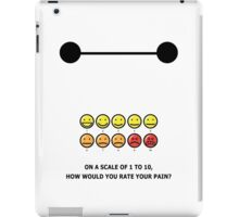 How would you rate your pain? iPad Case/Skin