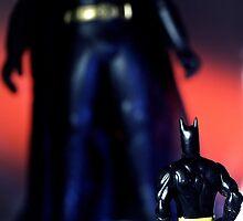Dark Knight Doppelgänger by Marc Sullivan