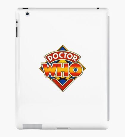 Doctor Who Tom Baker Logo (available as leggings) iPad Case/Skin