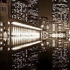 A reflective Boston by James Hughes