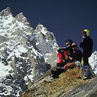 Resting near Masherbrum Pakistan by gondwana