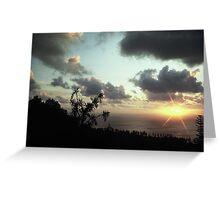 Norfolk Island Sunset Greeting Card