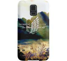 Shingeki no Kyojin Samsung Galaxy Case/Skin