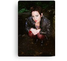 Super Laura Canvas Print