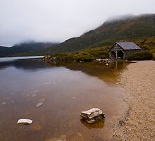 Dove Lake and the Boat Shed by Brad Holton