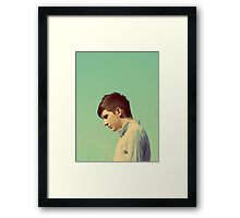 Alone With Myself Framed Print