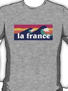 La France surfing waves T-Shirt