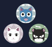 Chibi fairy cats Kids Tee