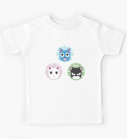 Chibi fairy cats Kids Tee