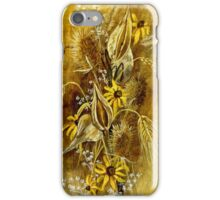 Dry Flower Pods iPhone Case/Skin
