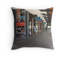 Brisbane Cruise Terminal Throw Pillow
