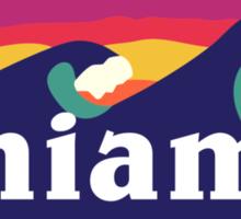 Miami Waves Sticker