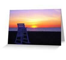 Daybreak At Rehoboth Greeting Card