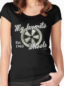 My favorite wheels Women's Fitted Scoop T-Shirt