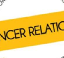 Dancer Relations Sticker