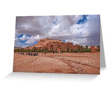 The great kasbah! Greeting Card