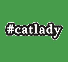Cat Lady - Hashtag - Black & White Kids Clothes