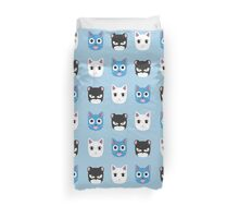 Chibi fairy cats V2 Duvet Cover