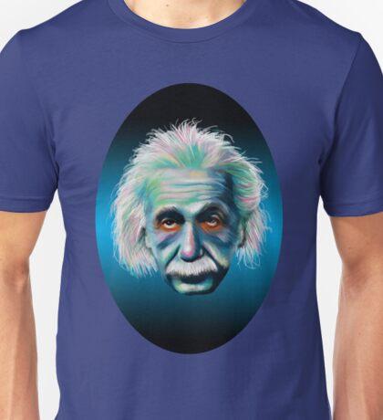 Colorful Einstein Unisex T-Shirt