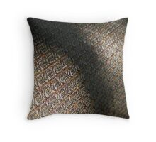 Shadowy Texture Throw Pillow