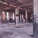 Armstrong Cork Factory - Pillars by Steven Godfrey