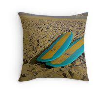 Hawaii Sand Throw Pillow