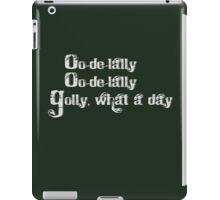 Oo-de-lally iPad Case/Skin