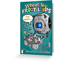 Wheatley Froot Loops, Portal Greeting Card