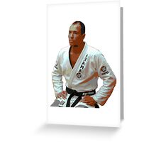 Royce Gracie- Original MMA Greeting Card