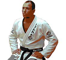 Royce Gracie- Original MMA Photographic Print