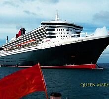 QUEEN MARY 2 - CARIBBEAN  by Thomas Barker-Detwiler