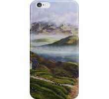 Irish Morning Mist - Oil Painting iPhone Case/Skin