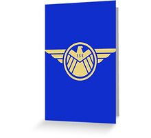Agent Carter (badge) Greeting Card